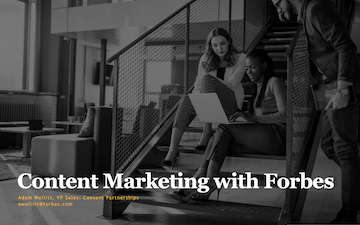 Preview of the presentation Content Marketing with Forbes