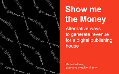 Preview of the presentation Alternative ways to generate revenue for a digital publishing house