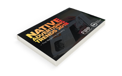 Preview of the report Native Advertising Trends 2018 in the Magazine Industry