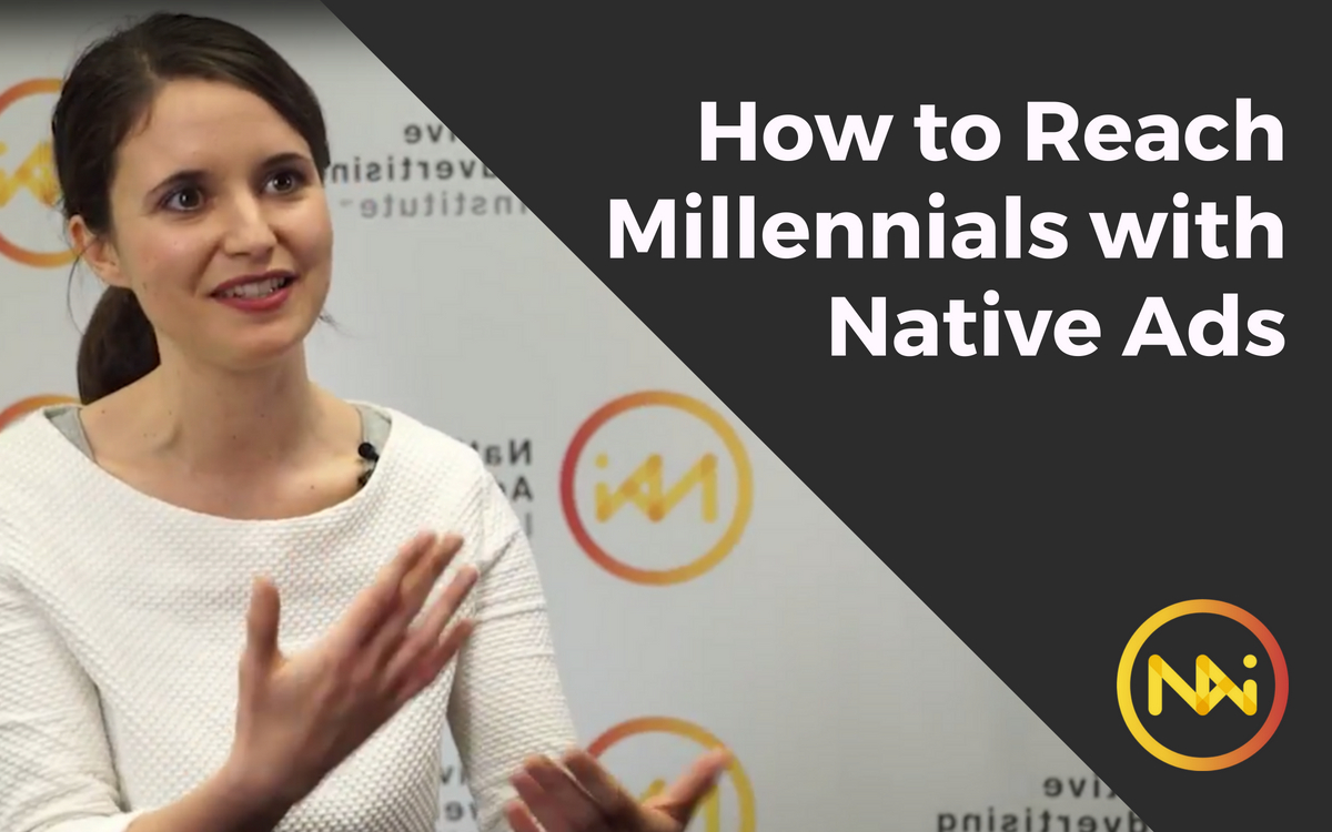 Image of Rita Petrulak with the title How to Reach Millennials with Native Ads